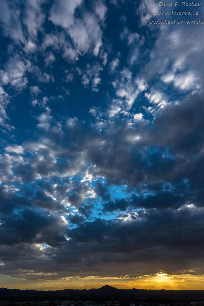 becker-art Natur Afrika Namibia Himmel Wolken Sonnenuntergang